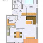 Grundriss Wohnung 11 DG