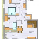 Grundriss Wohnung 2 EG