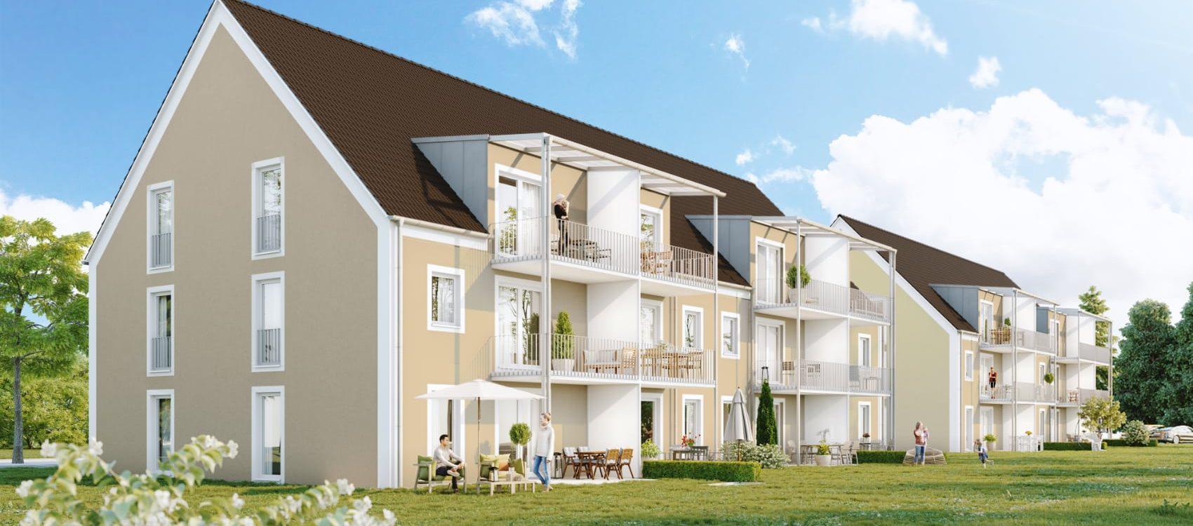Neubauprojekt in Niederaichbach – Eigentumswohnungen